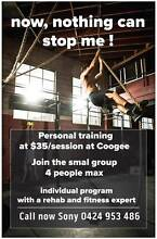$35 personal training session Coogee Eastern Suburbs Preview