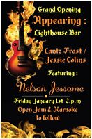 New Year's Day Bash January 1st Lighthouse Bar Shediac Mall