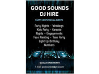 GOOD SOUNDS DJ - PROFFESIONAL MOBILE DJ FOR HIRE ON SOUTH SIDE GLASGOW