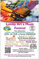 Win $300 in Prizes/Lumby Art and Music Festival