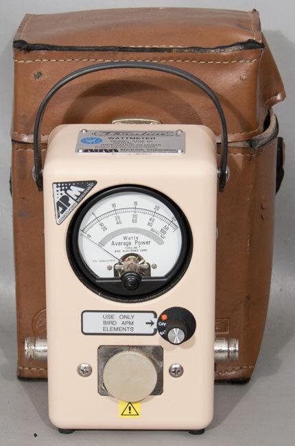 Bird APM-16 Average Reading Power Meter Wattmeter with Carrying Case