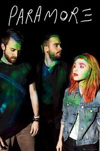 051 Paramore - American Rock Band Hayley Williams Canvas 14