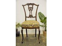 Antique Mahogany Desk Chair