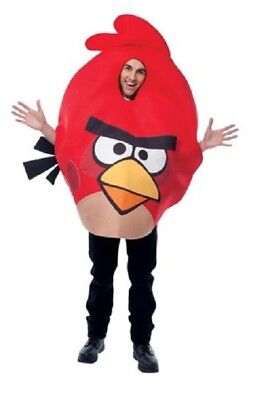 New Angry Birds RED BIRD Adult Men or Women Costume PMG Halloween 2011