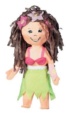 Hula Girl Pinata - Luau Themed Birthday Party Supplies - Luau Pinata