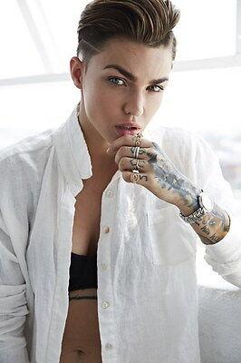 061 Ruby Rose   Australian Model Dj Actress 14 X21  Poster