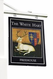 Full & Part-time Bar Staff - The White Hart in Cadnam