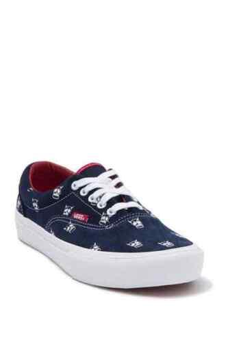 NIB Vans Era Pro Kader Sylla Skate Shoes.  Navy/Red Skulls. Men