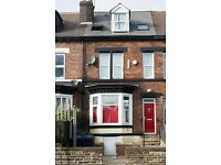 ROOM AVAILABLE FROM JULY 2017 - in a 7 bedroom house in prime location on Ecclesal Road