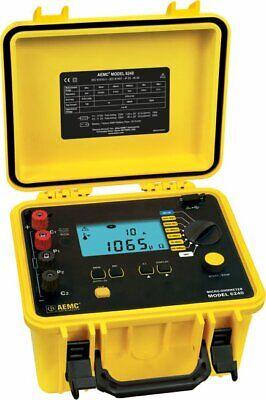 Aemc 6240 2129.80 10a Micro-ohmmeter