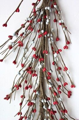Primitive Pip Berry Garland - 5' / 5 FT / 60