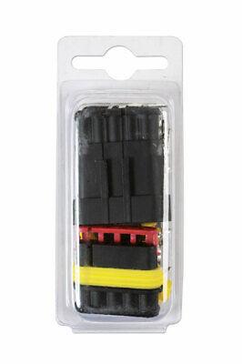 Para Automóvil Eléctrico Supaseal Conector Kit 5 Clavija 22pc 37230 Connect
