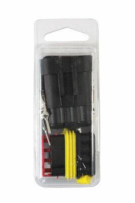 Para Automóvil Eléctrico Supaseal Conector Kit 4 Clavija 18pc 37229 Connect
