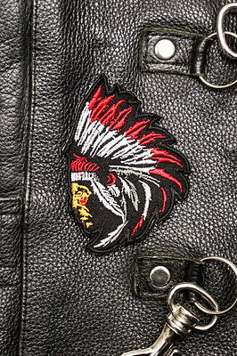 Chief Indian Sew-On biker patch