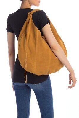 Hobo Eclipse Harvest Bag Crossbody Suede leather Large L -