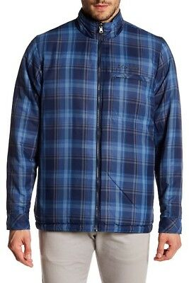 Columbia Men's Half Life Reversible Jacket Plaid Blue (S) Columbia Half Life