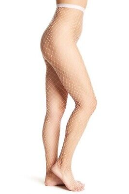 NIP Free People Libby Fishnet Tights LAVENDER Purple One Size Fits Most - Purple Fishnet Tights