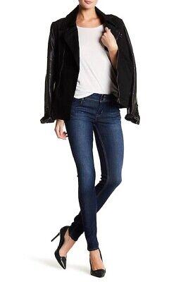 $189 NWT HUDSON Jeans Collin Flap Pocket Skinny Ankle Dark Wash Jeans  Sz 30 Flap Pocket Skinny Jean