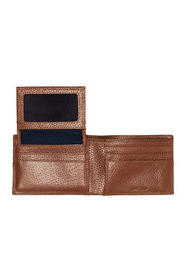 Cole Haan, Pebble Leather Billfold Wallet, British Tan, *NEW* *FREE Shipping*