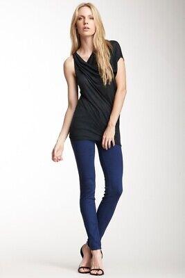 J. Brand Womens Super Skinny Jeans Sz 26 Blue Nightfall 620O222 Stretch Mid Rise