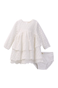 White lace dress 3-6 months