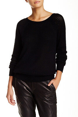VS060 NWT VINCE RAGLAN SLEEVES WOMEN THERMAL SWEATER SIZE S in B $345