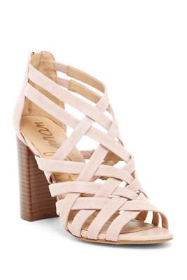c38f229db Sam Edelman Yori Primorose Stacked Heel Sandal 1652 Size 8 M
