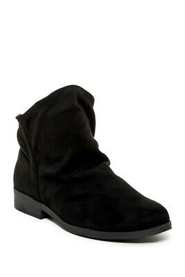 LFL by Lust For Life Women's Roxanne Black Soft Suede Slouch
