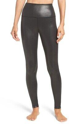Zella Womens M Live-In High Waist Leggings Compression Yoga + Studio Pant Black