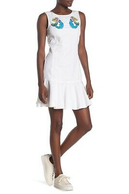 LOVE Moschino Embroidered Sleeveless Dress 520$ size 8