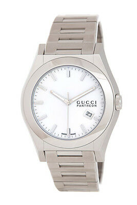 GUCCI Men's 115XL Stainless Steel Pantheon Watch NWT! $1450 | C058
