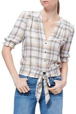 Paige Annecy size Small junior's plaid (Junior Small Size)