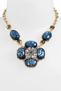 Lee by Lee Angel Pendant Statement Necklace Nordstrom NWT $85 BLUE