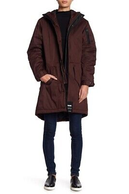 Used, G-STAR RAW Rackham Long Hooded Parka 10566 Size M for sale  Charlotte