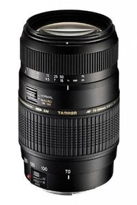 NEW TAMRON 70-300mm Di LD LENS for NIKON D3100 D7000 D5200 D3200