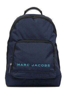 MARC JACOBS-Blue Preppy Nylon Backpack M0014780-421-AUTHENTIC-NEW WITH TAG