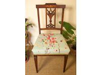 Antique Mahogany Regency Chair
