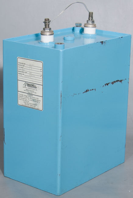 Maxwell 36151 500 µF/uF 1.5 kV High Voltage Capacitor 1500 VDC