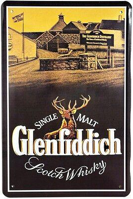 Scotch Whisky Bar Deko Metallschild 20x30 Retro Reklame Blechschild 506