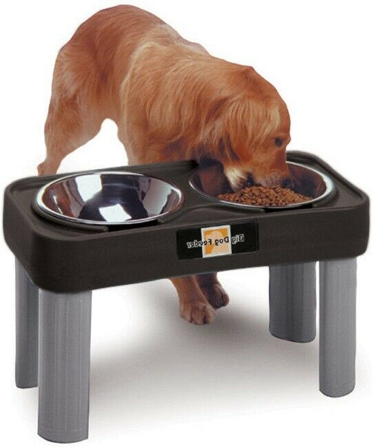 Pet Bowl for Large Pets Dog Feeder Elevated Raised Tall Pet Food Station 16