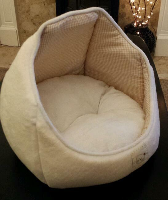 Kitten/Cat bed Igloo Cream