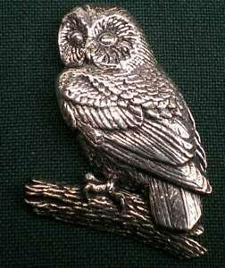 EULE ANSTECKNADEL PIN B3 TAWNY OWL - <span itemprop=availableAtOrFrom>Salzburg, Österreich</span> - Rücknahmen akzeptiert - Salzburg, Österreich