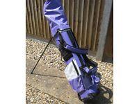 Ladies Longridge Golf Set with golf bag and stand £10