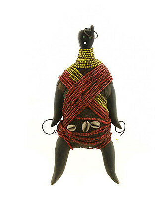 Statue FETISH Doll Namji Cameroon Art African 5098