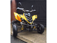 Yamaha Raptor 700r 50th anniversary edition supermoto road legal quad