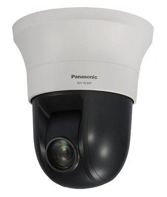 Panasonic Wv-sc387 Super Dynamic Hd Ptz Dome Network Security Camera New