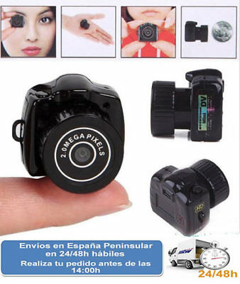 Micro camara espia camara oculta grabacion video y foto webcam (Envio express) Camara Y Espia Video