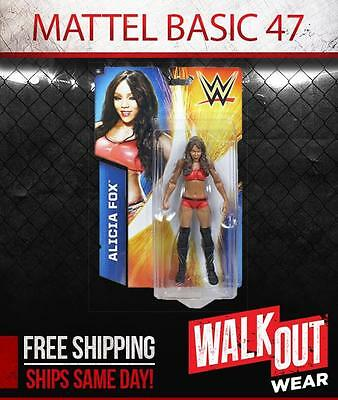 ALICIA FOX WWE MATTEL BASIC SERIES 47 ACTION FIGURE TOY (BRAND NEW)