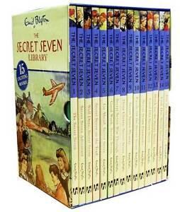 Enid-Blyton-Secret-Seven-Complete-Collection-of-15-books-Set-Secret-Seven