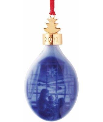 Bing & Grondahl 2017 Christmas Drop Ornament NEW IN BOX